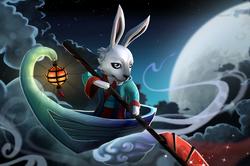 Загрузочный экран «Mei Nei Jade Rabbit»