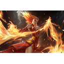 Genuine Fiery Slayer Loading Screen