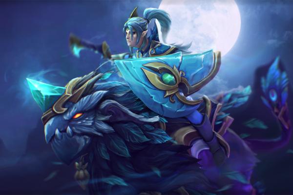 Загрузочный экран: Spirit of the Emeraldine Rider