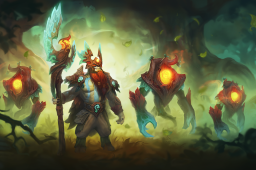 Loading Screen of the Truebark Adherent