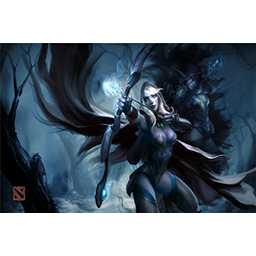 Genuine Traxex the Drow Ranger