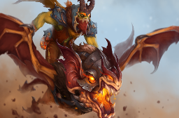 Loading Screen of the Rowdy Firebrand