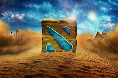 Загрузочный экран «Sands of Luxor»