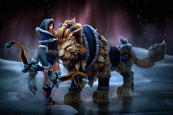 Загрузочный экран: Snowstorm Huntress