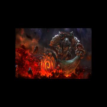 free dota2 item Tine of the Behemoth Loading Screen