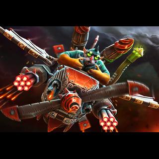 Sky-High Warship