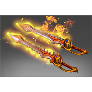 Genuine Rapiers of the Burning God