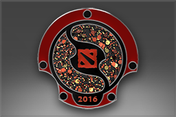 Genuine Pin: The International 2016 Attendee