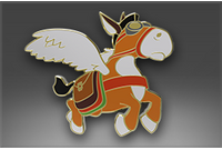 Genuine Classic Pin: Courier Donkey