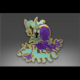 Genuine Pin: Abaddon