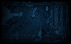 Technobabylon circuit background