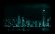 Technobabylon city background
