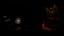 Statue in the dark