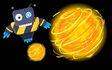 Hero and energy ball