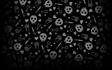 Love Skull Background