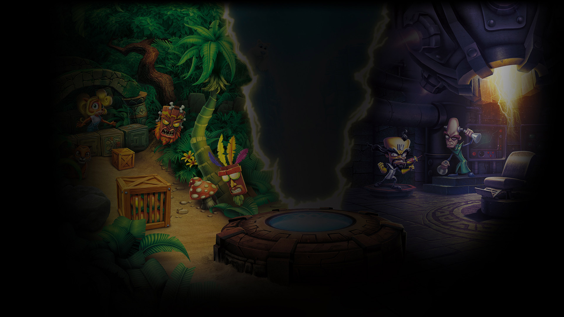 Steam Card Exchange Showcase Crash Bandicoot N Sane Trilogy Upsilon Circuit Is One Part Game Show Video And All Backgrounds