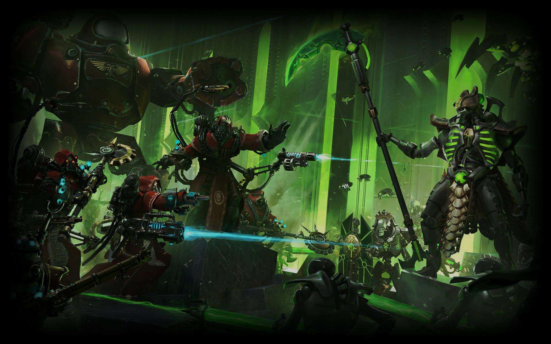 Showcase :: Warhammer 40,000: Mechanicus