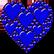 :heartblue: