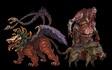 Ash Curse monsters