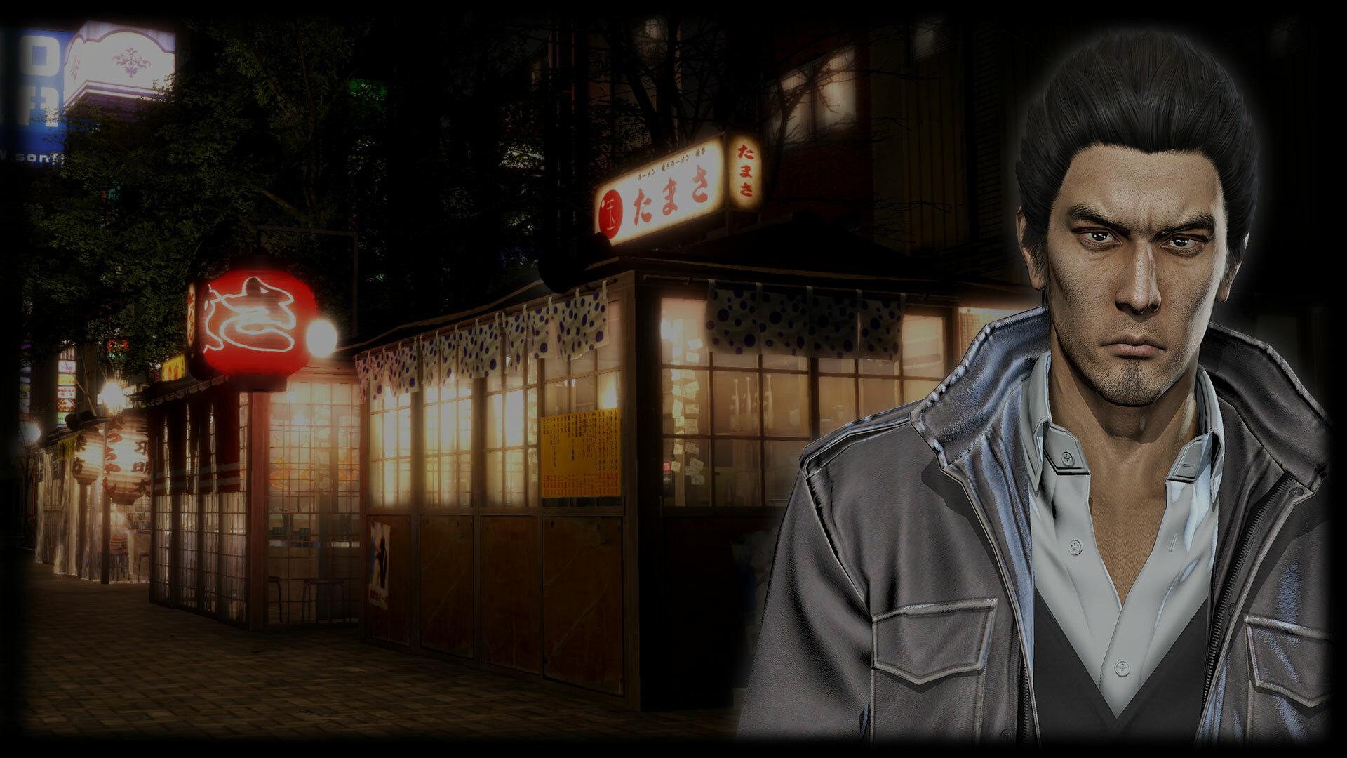 Kazuma Kiryu Background