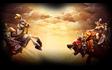 Mounted Knight vs. Bear Rider