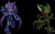 Freedom Planet - Lilac and Carol