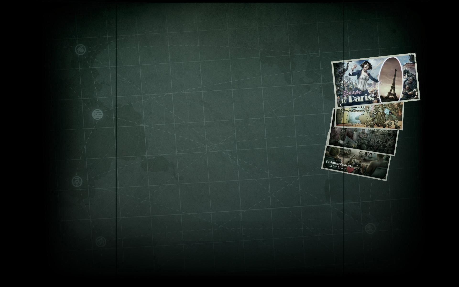 Summer Getaway Postcards - Bioshock Infinite