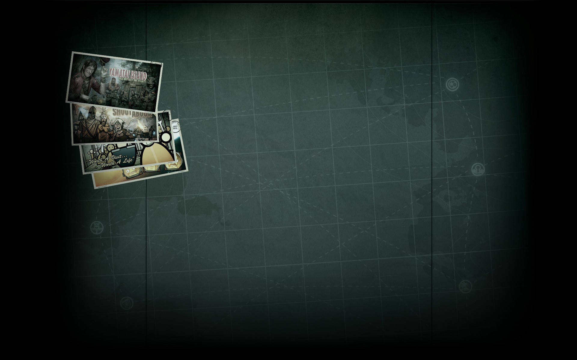 Summer Getaway Postcards - Tomb Raider