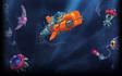Aqua Kitty - Main Background Art