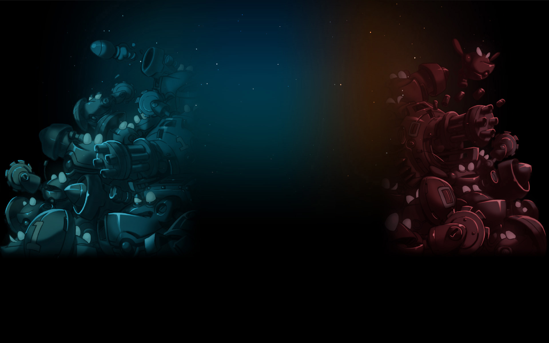 Blue vs. Red