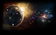 The destruction of planet Kronos
