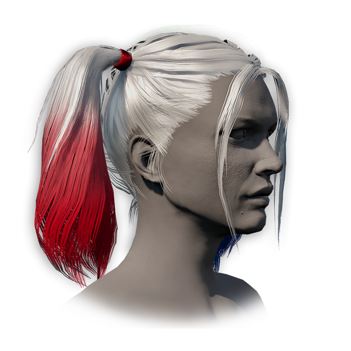 Harley Quinn's Hair