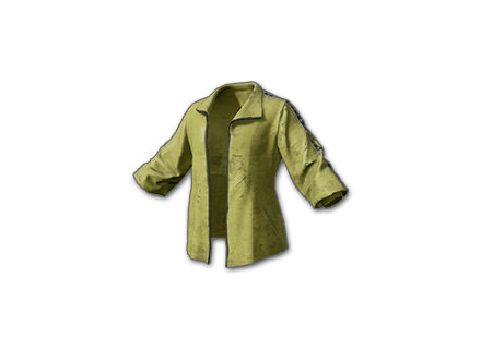 PUBG Tracksuit Top (Yellow) skin icon