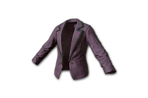 Female Tuxedo Jacket Purple