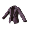 Female Tuxedo Jacket (Purple)