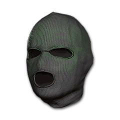 Green Pattern Balaclava