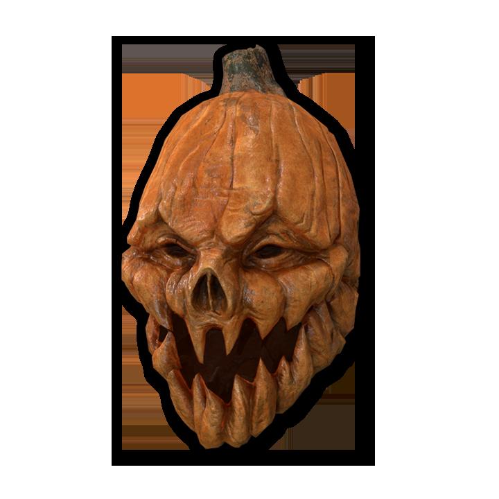 Haunted Pumpkin Mask