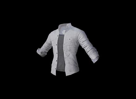 PUBG School Shirt (Open) skin icon