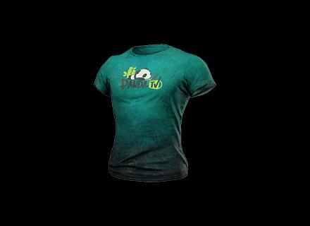 PUBG PandaTV T-Shirt skin icon