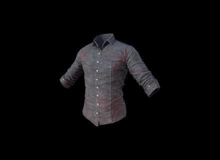 PUBG Shirt (Gray) skin icon
