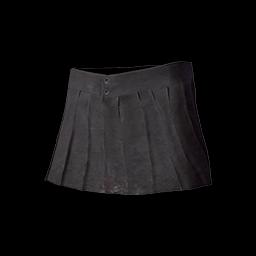 Pleated Mini-skirt (Black)