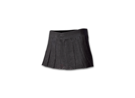 Pleated Mini-skirt (Black) icon