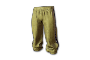 Tracksuit Pants Yellow