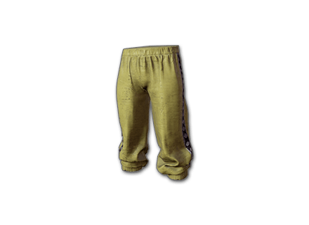 PUBG Tracksuit Pants (Yellow) skin icon