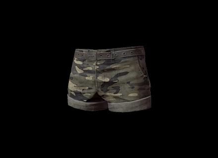 PUBG Camo Hotpants skin icon