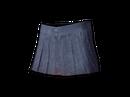 Pleated Mini-skirt (Blue)
