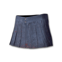 Pleated Mini-skirt (Blue)