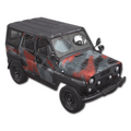 """Red Zoned""  UAZ"