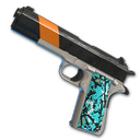 Turquoise Delight - P1911