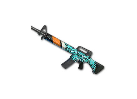 PUBG Turquoise Delight - M16A4 skin icon